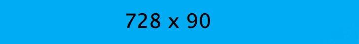 leaderboard: 728 x 90